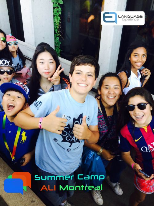 campamentos de verano en frances