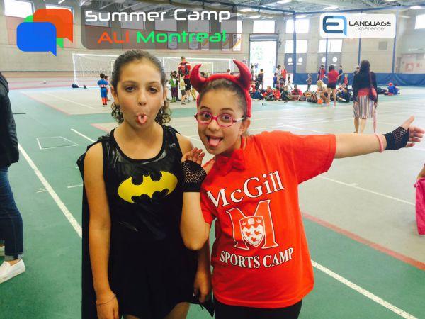 campamento de verano en frances